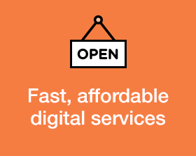 Open. New services!